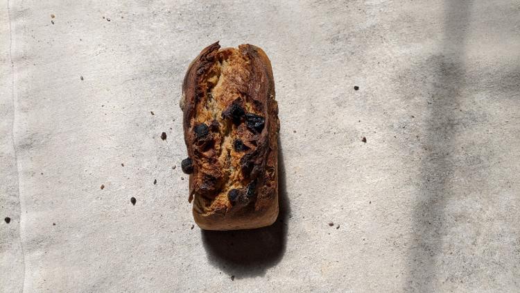 Pain raisins/noisettes 400g