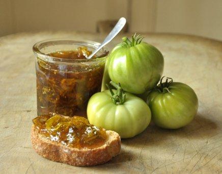 Tomates vertes pour confiture
