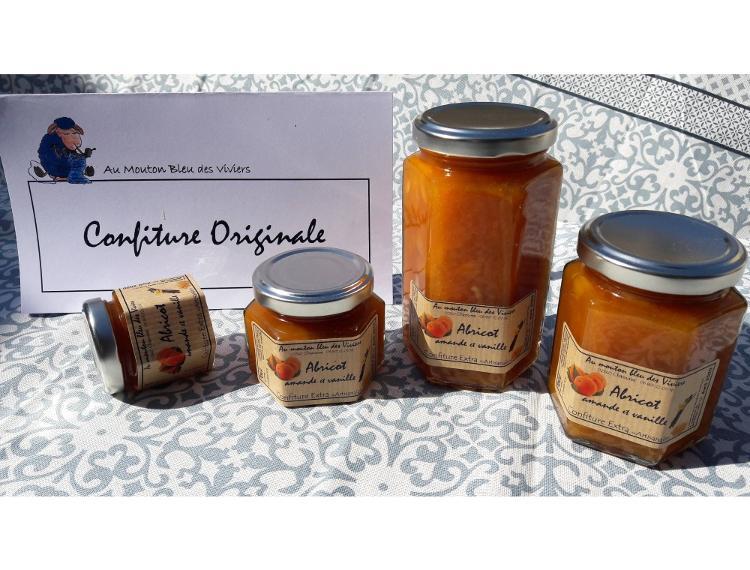 Confiture Abricot Vanille 50g