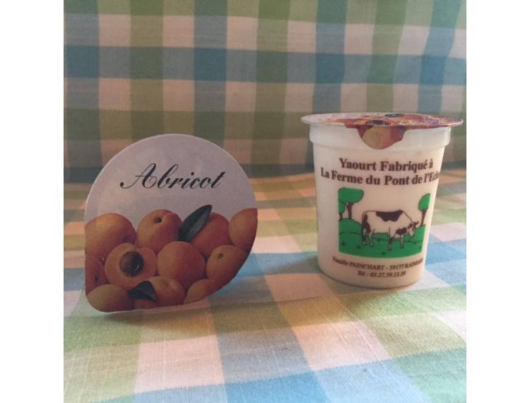 Yaourt brassé abricot