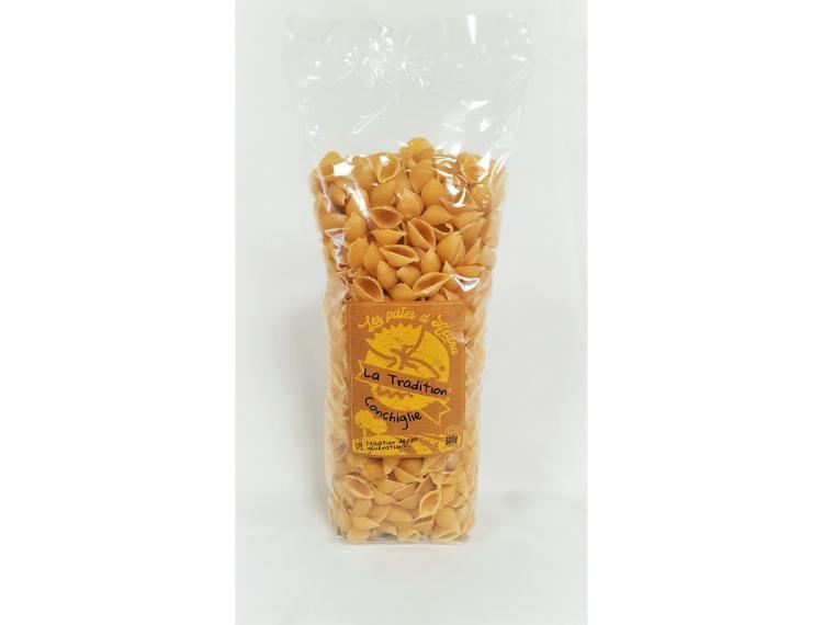 Pâtes Conchiglie - La Tradition (au blé dur) - 500 g