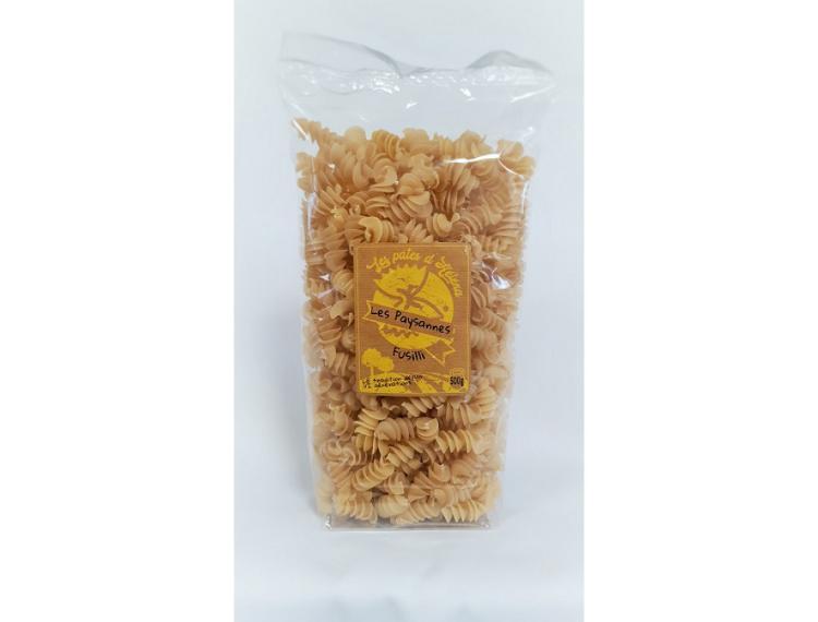 Pâtes Fusilli - La Paysanne (au blé tendre) - 500 g