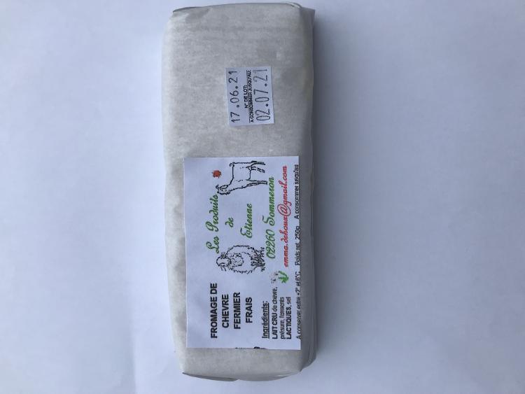 Brique de chèvre frais - 250 g