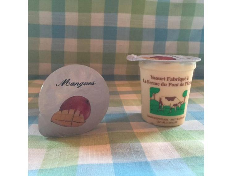 yaourt brassé mangue
