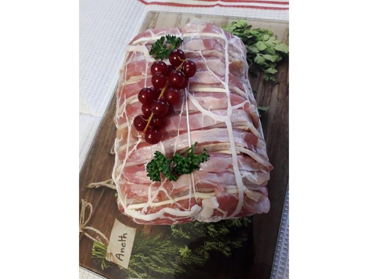 rôti porc filet sans filet mignon façon orloff
