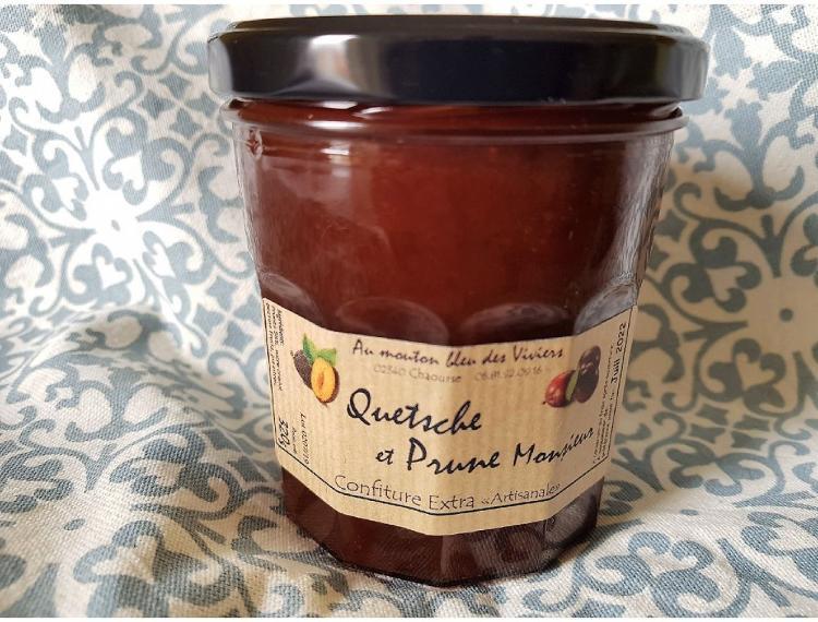 Basic Confiture Quetsche/Prune Monsieur 320g