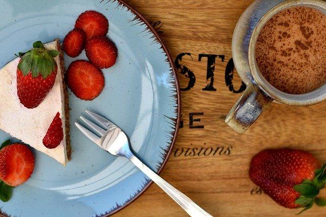Cheese cake breton aux fraises