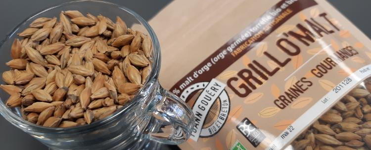 Grillo'Malt (grains d'orge toastés)