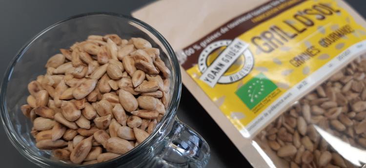 Grillo'Sol (graines de tournesol toastées)