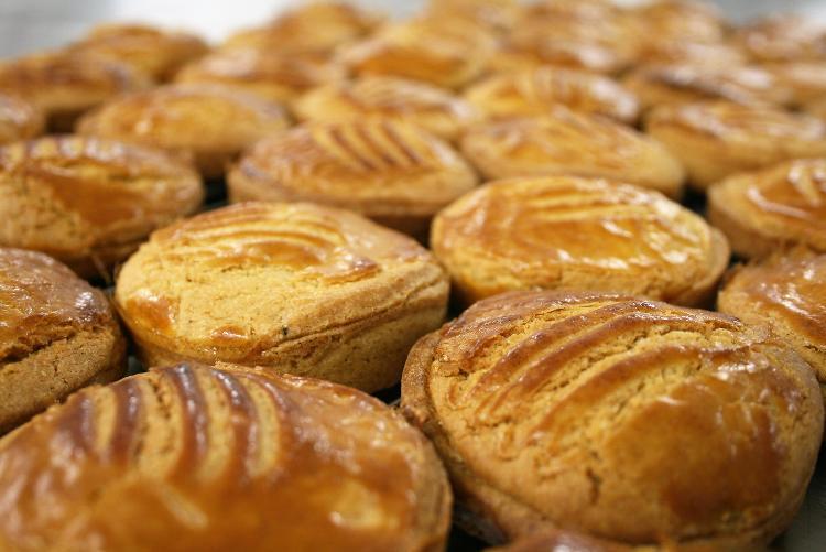 Petit galette framboise