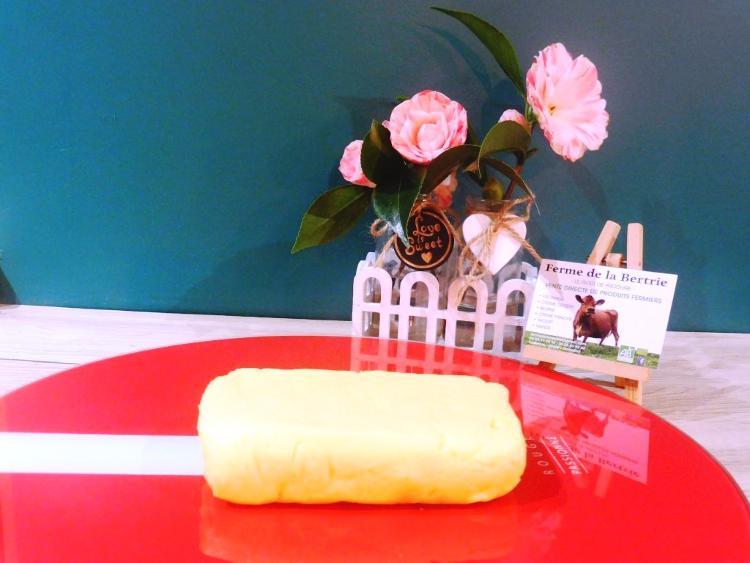 beurre cru bio à la fleur de sel de Guérande (250gr)