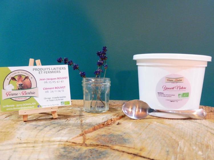 yaourt nature bio POT 500G