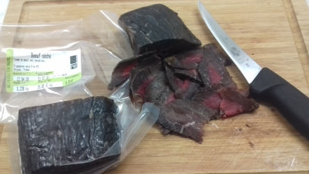 Viande séchée de b½uf