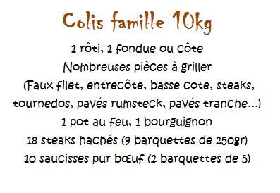 Colis FAMILLE 10kg