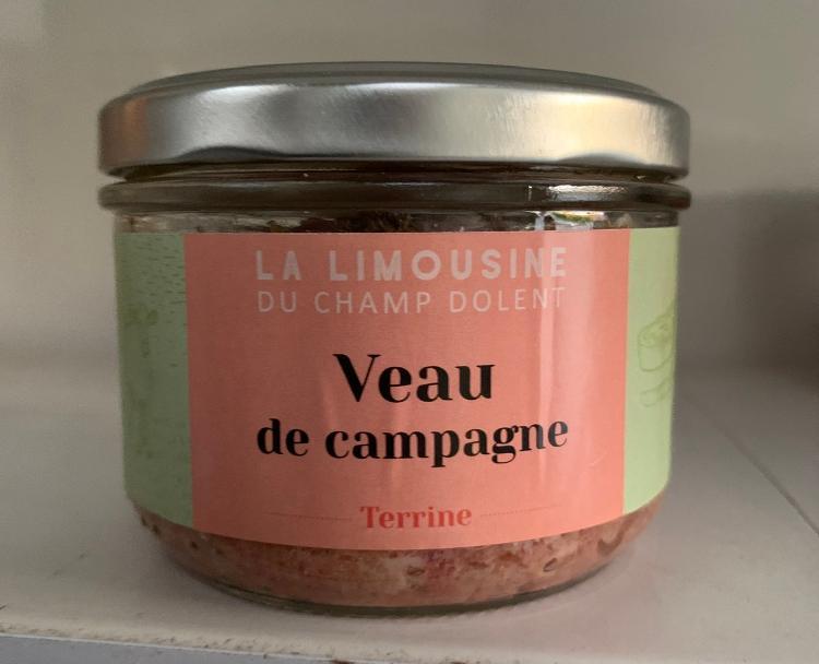 TERRINE DE VEAU DE CAMPAGNE