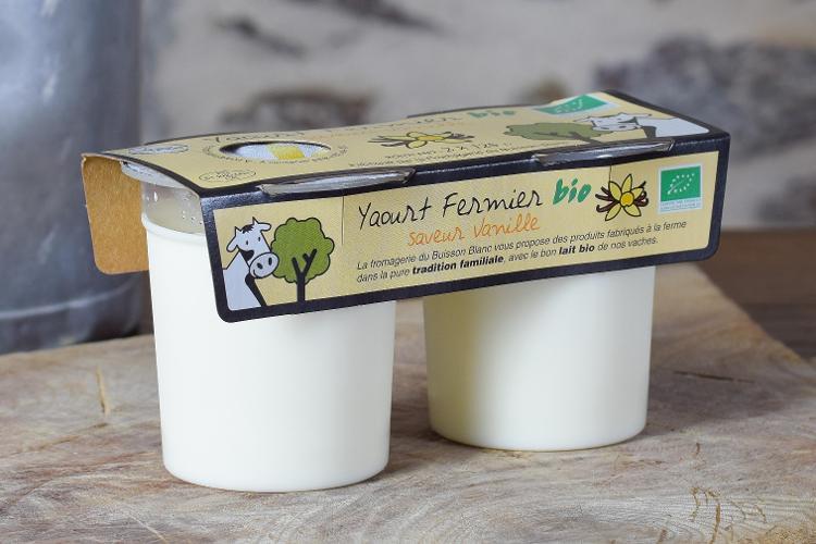 Yaourts à la vanille de Madagascar, par 2