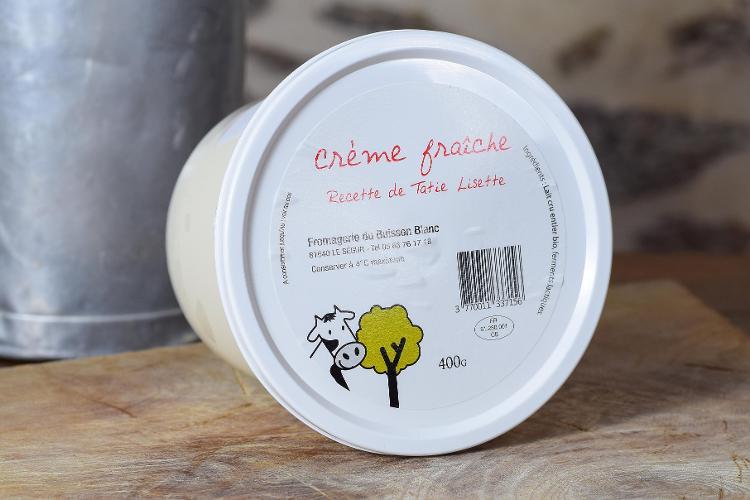 Crème fraîche fermière 400gr