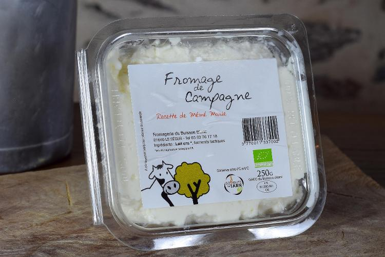 Fromage de Campagne 250gr