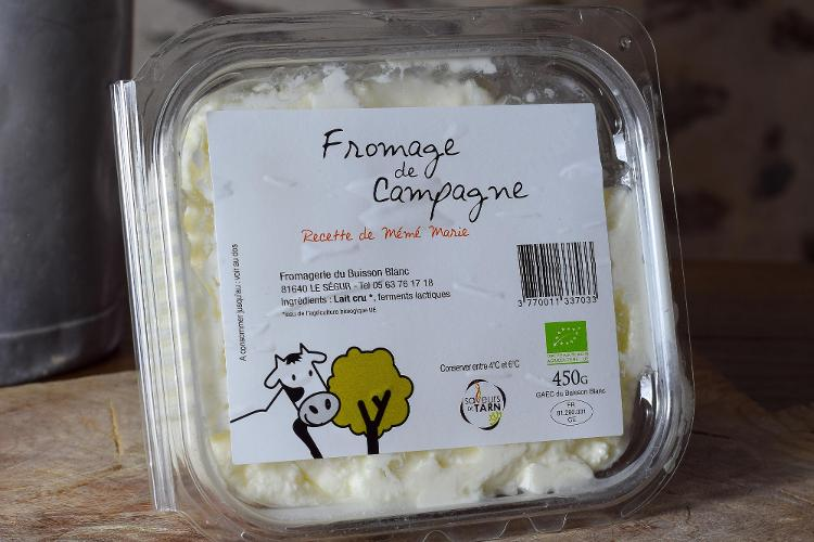 Fromage de Campagne 450gr
