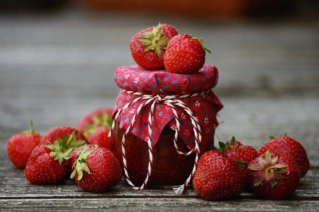 fraises à confiture