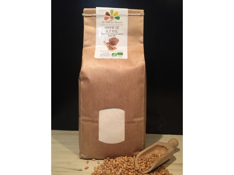 Farine de Blé Bise BIO - 5 kg
