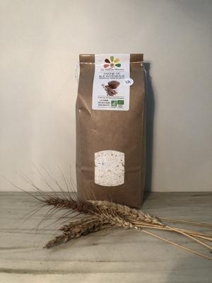 Farine de Blé INTEGRALE BIO - Variétés Anciennes - 1 kg