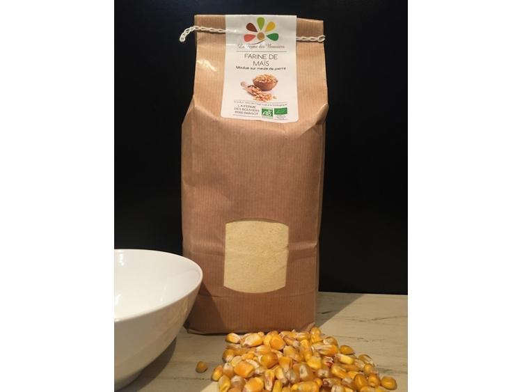 Farine de Maïs BIO - 1 kg