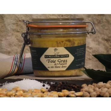 """Foie gras entier de canard de """"Barbarie"""" 500 g"""