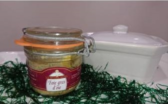 Foie gras entier d'oie 320g
