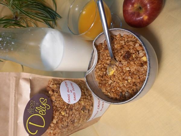 muesli croustillant FRUITS SECS sans gluten