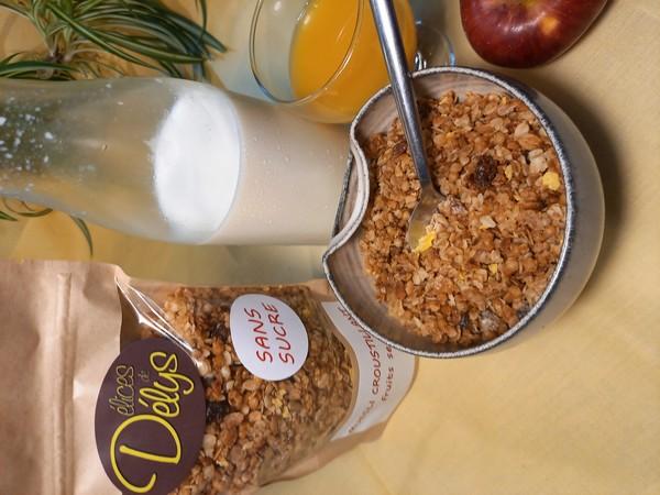 muesli croustillant FRUITS SECS sans sucre