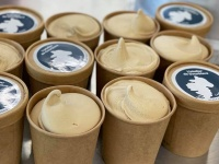 Glace au lait frais de brebis CAFE