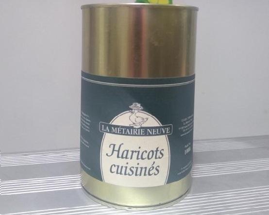 Haricots cuisinés1 kg