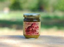 Fleur d'ail rose - Herbes à l'huile