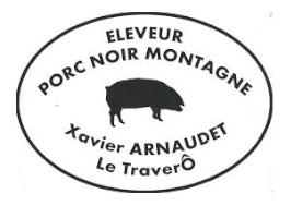 2 Cotes Filet Porc Noir
