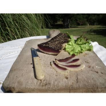 "Magret seché de canard de ""barbarie"" environ 350g"