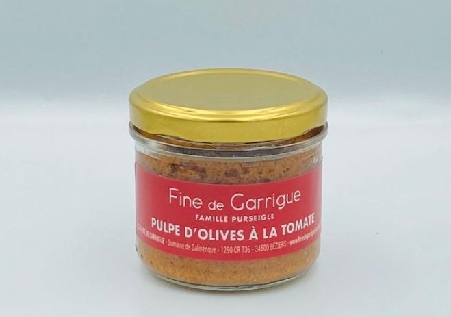 Pulpe d'olives à la tomate