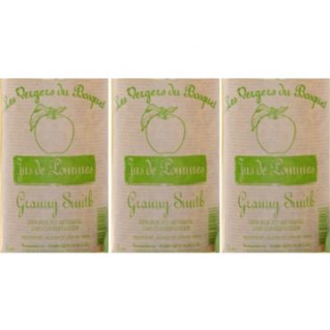 """Carton 6 jus de pommes """"Granny Smith"""""""