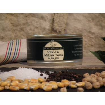 """Pâté de la """"Métairie Neuve"""" à 50% de foie gras"""