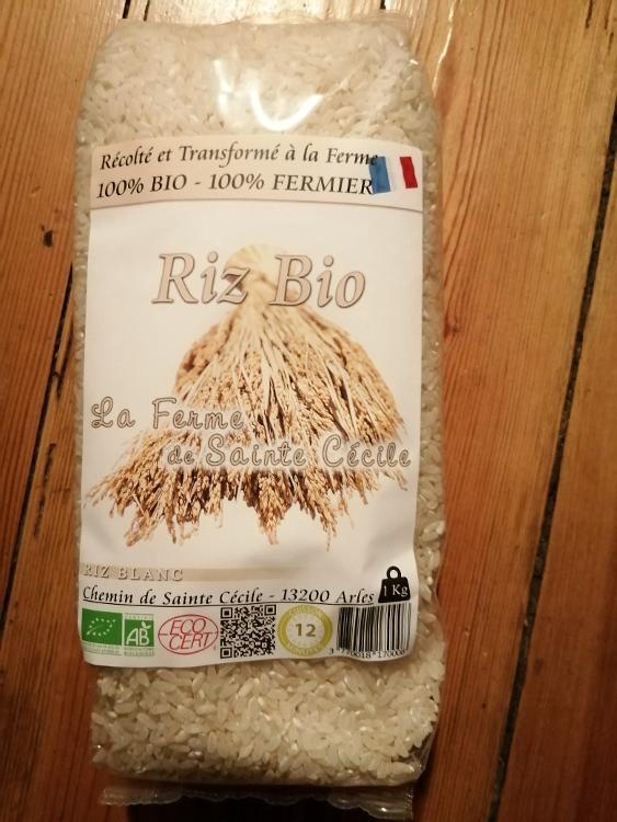 riz blanc bio