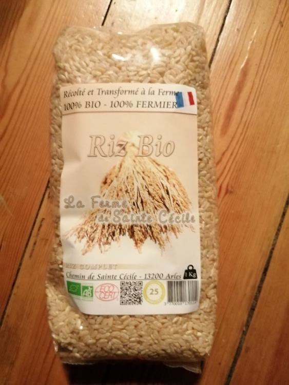 riz complet bio