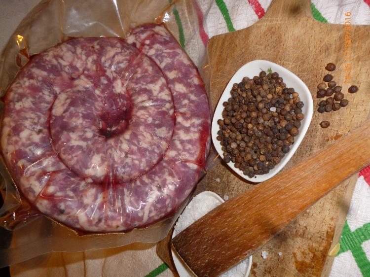 Saucisse fraîche Porc Noir sous vide