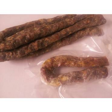 Saucisse seche de canard gras de barbarie 250g