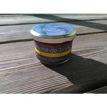 Emietté de truite au citron confit 90g