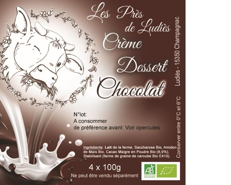 Crème Dessert Chocolat (500g)