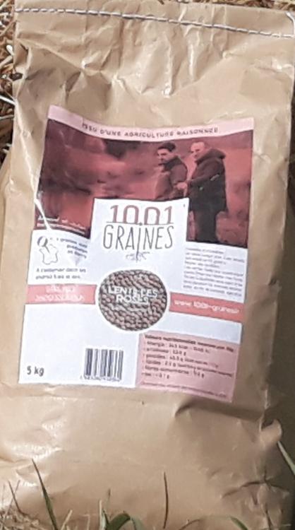 """Lentilles roses """"1001 graines"""" - sac de 5kg"""