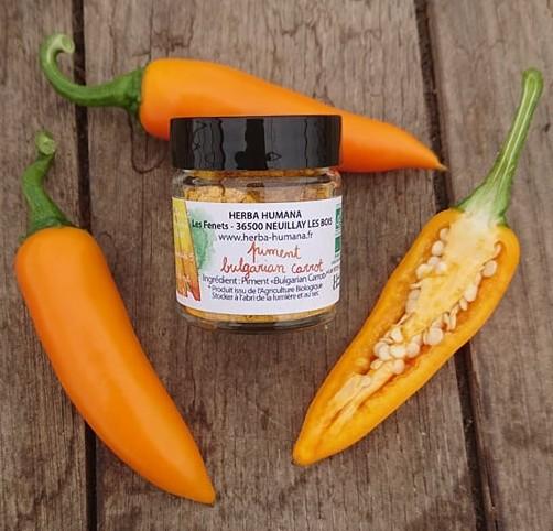 Piment Bulgarian Carrot -12g
