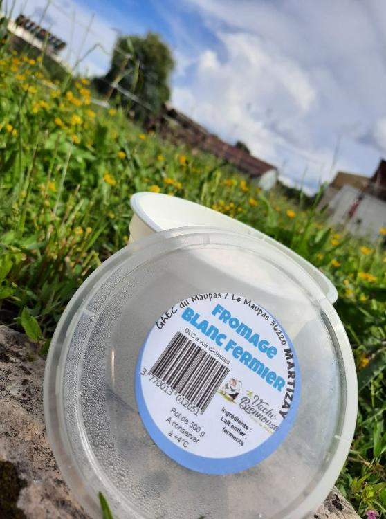 Fromage blanc fermier - La vache Brennouse - 500g