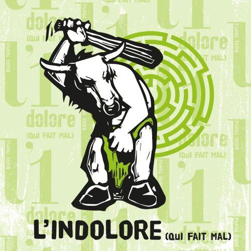 Bière Triple - L'Indolore (8.3%) - 1 bouteille 33 cl