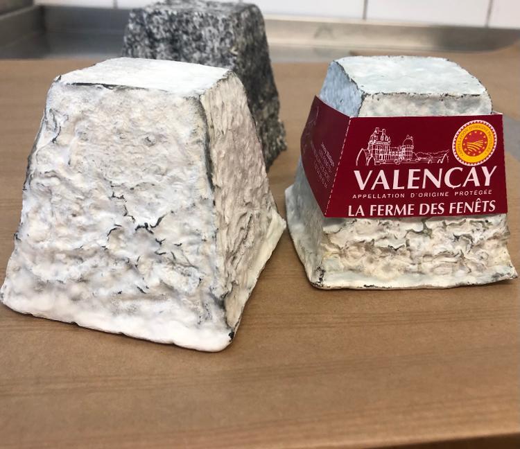 Valencay - Les fromages de Jenny - 375g (poids correspondant à un fromage frais)